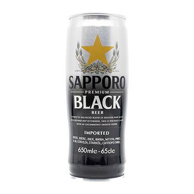 SAPPORO kuro can - 650.ml