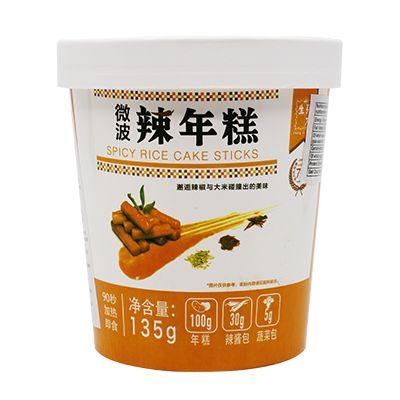 KOREAN rice Sticks Spicy - 135.gr